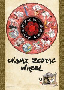 Zodiac Wheel with Okami's 13 Brush Gods.