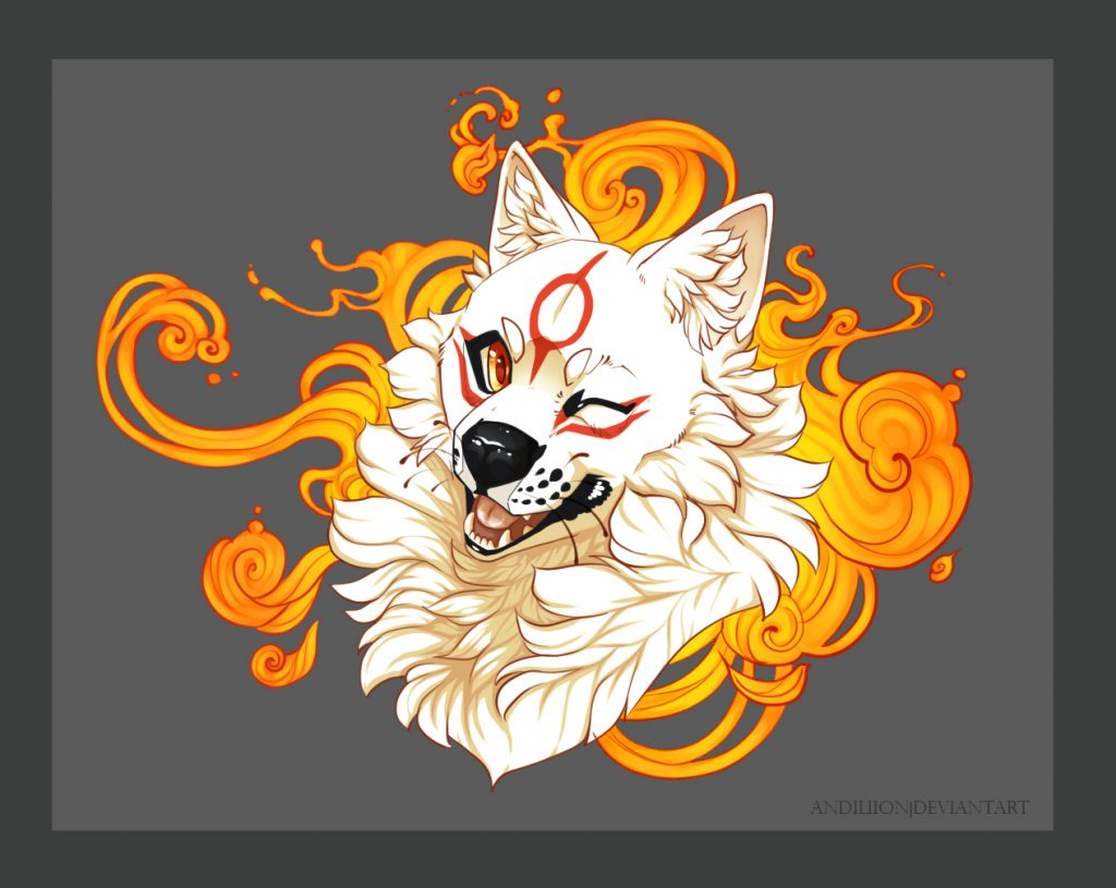 Portrait of Ammy giving the viewer a happy wink.