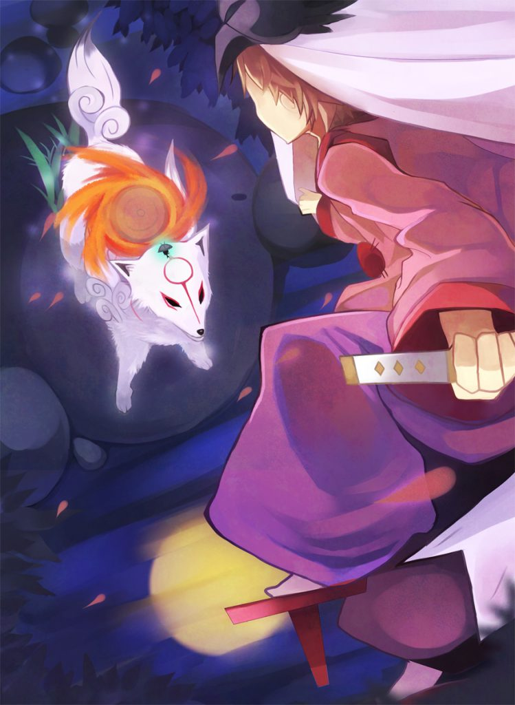 Ammy and Waka, in combat with each other.