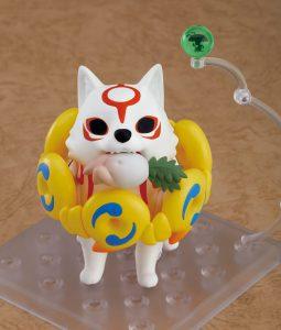 Nendoroid Amaterasu (Ammy) Chibi Figure, with Oddly Shaped Turnip.