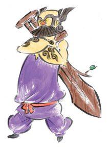Okami official art: Susano