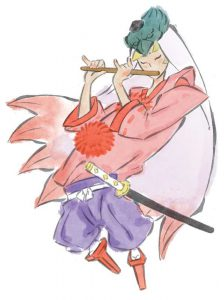 Okami official art: Tao Master Waka