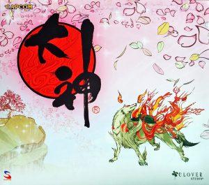 Front cover of original Okami soundtrack album.