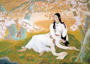 Japanese painting of Princess_Konohanasakuya