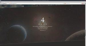 "Screenshot of ""Platinum 4"" website, April 14 2020, fourth announcement, apparent joke."